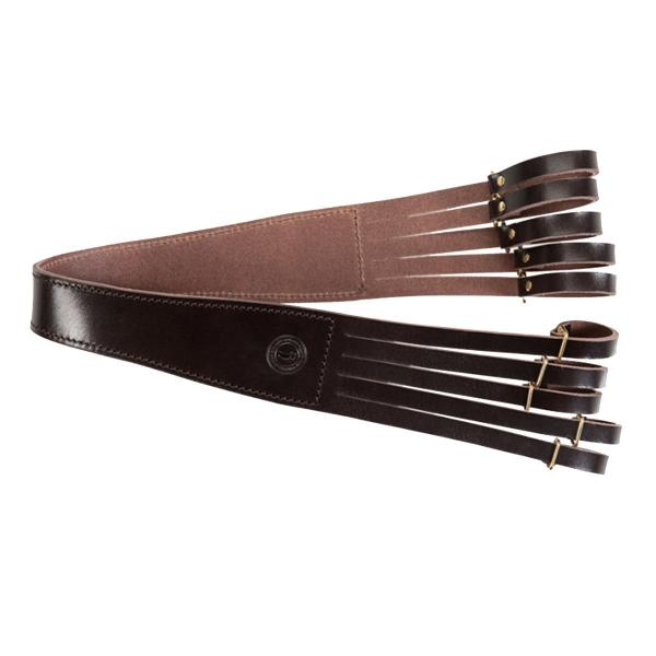 Baron Bird Strap Brown Leather