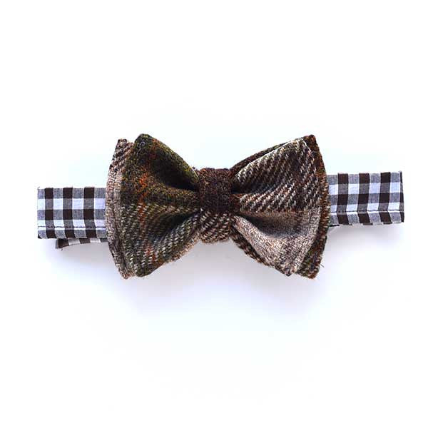Harris Tweed Bow Tie Meadow