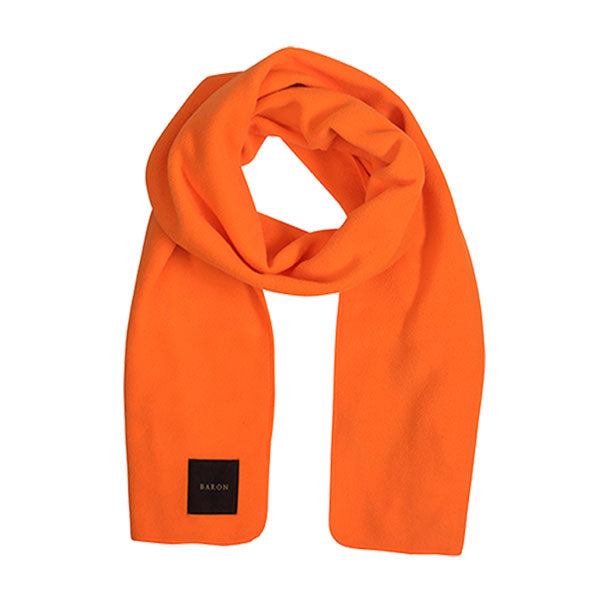 Baron Fleece Tørklæde Neon Orange