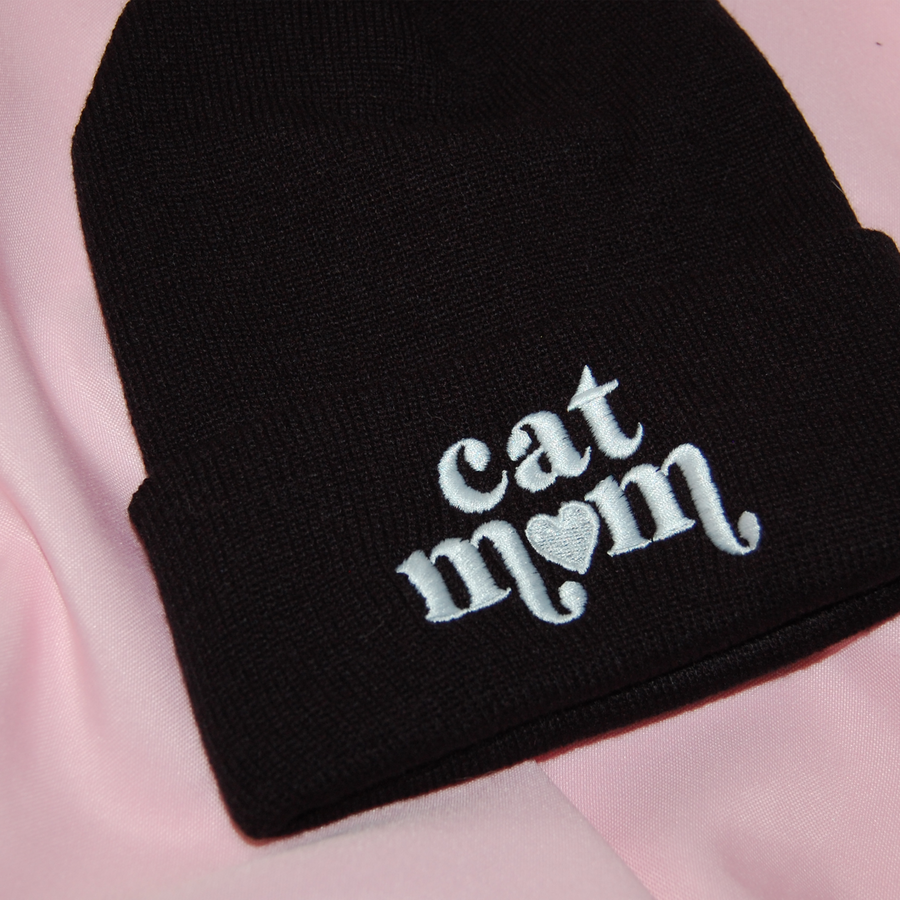 Cat Mom Beanie