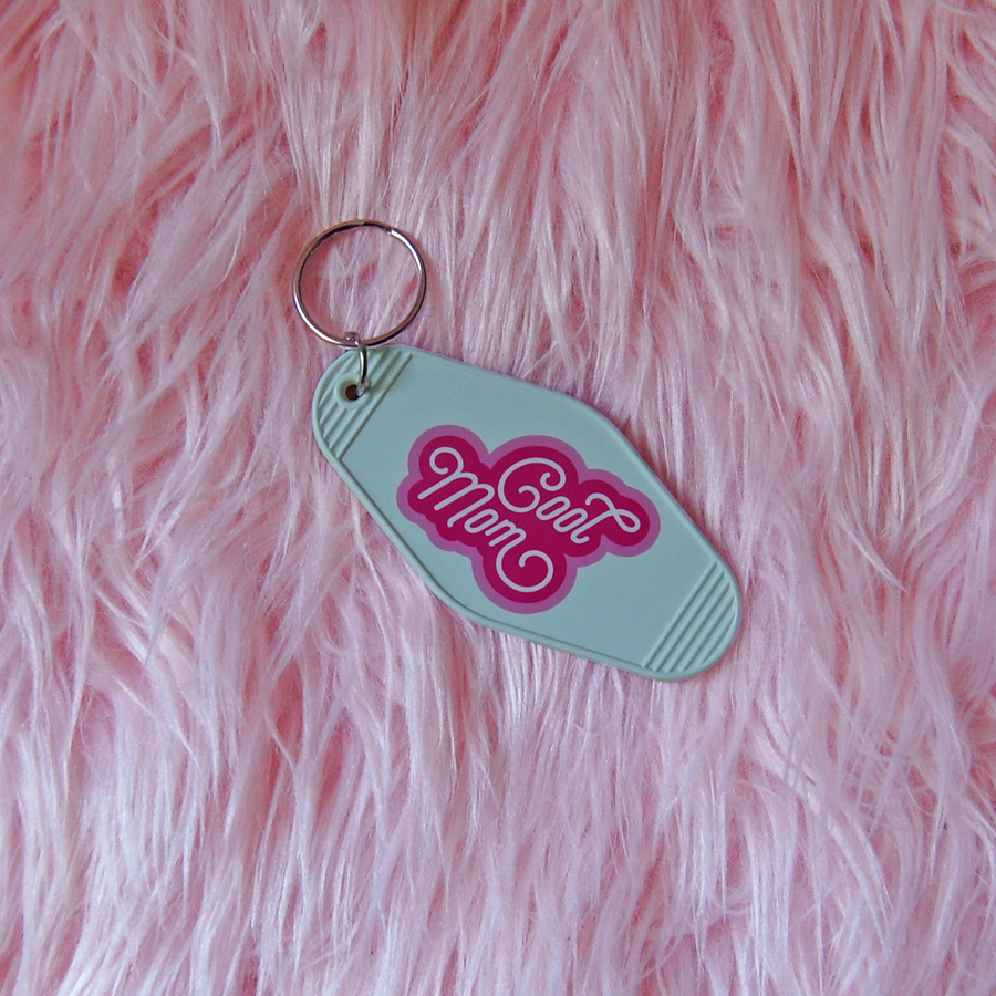 Cool Mom keychain