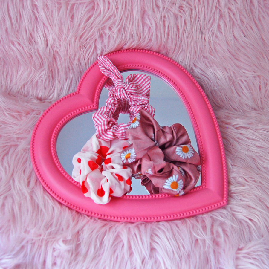 Lolita scrunchie set- Pink