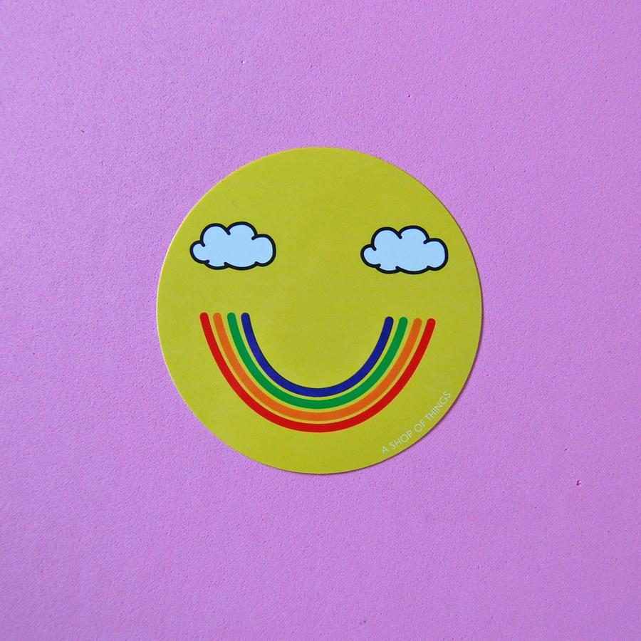 Smiley Sticker