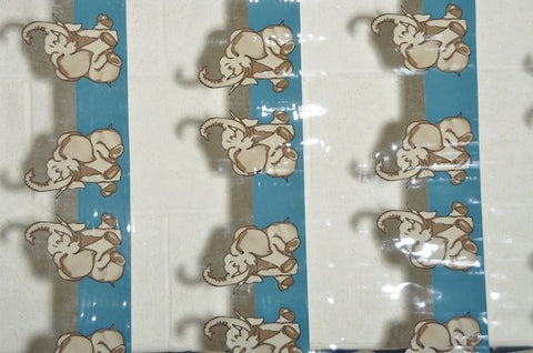 PVC Elephants - Endoflinefabrics