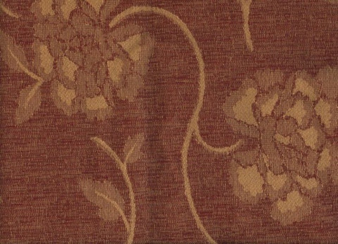 Florence Terracotta Red - Endoflinefabrics