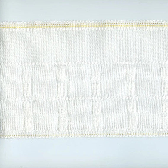 "6"" Delux Woven Pocket Pinch Pleat Header Tape"