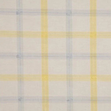 Guildford Plaid Blue Yellow White - Endoflinefabrics