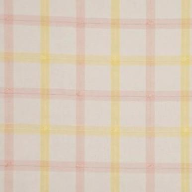 Guildford Plaid Yellow Pink White - 4.1mt Remnant