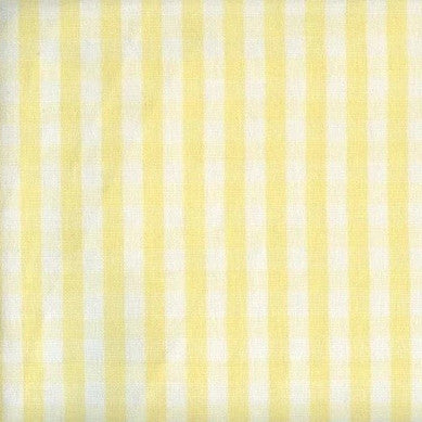 Chester Pale Yellow White - Endoflinefabrics