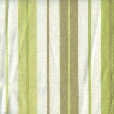 Penny Stripe Green Tea - Endoflinefabrics