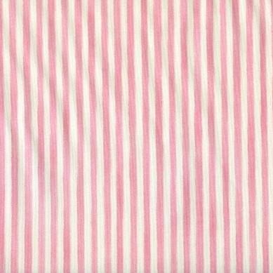 Anna French Pinstripe Pink - 3mt Remnant