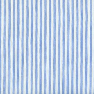 Anna French Pinstripe Blue - 3mt Remnant