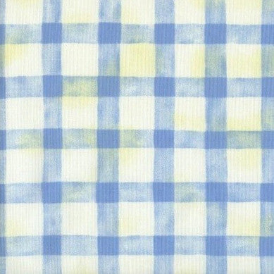 Criss Cross Blue - Endoflinefabrics