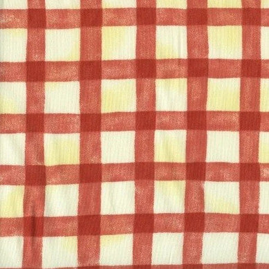 Criss Cross Red - Endoflinefabrics
