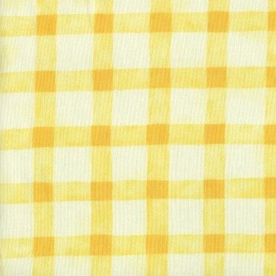 Criss Cross Yellow - Endoflinefabrics