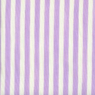 Anna French Stripe Lilac - 3mt Remnant