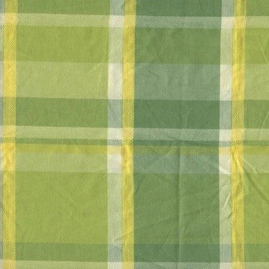Parasol Plaid Citrus - Endoflinefabrics