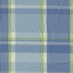 Academy Clairtex Parasol Plaid Lake - 4.5mt Remnant