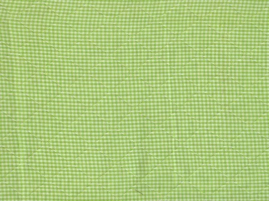 Country Gingham Citrus : 3m Remnant - Endoflinefabrics