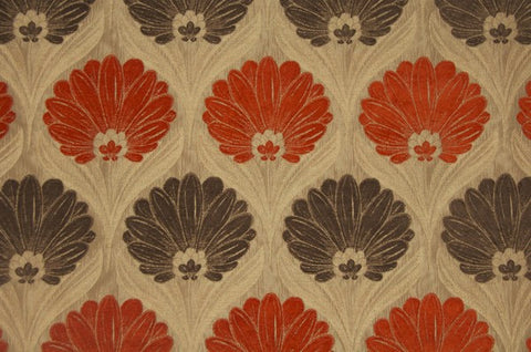 Turnberry Orange Grey - Endoflinefabrics