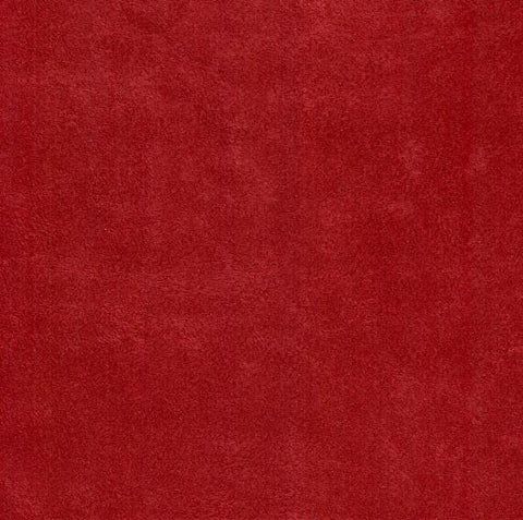 Dawlish Cherry Faux Suede