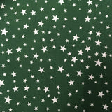 MP Poly Cotton 355 stars Green