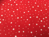 MP Poly Cotton 355 Stars Red