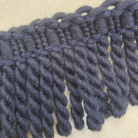 Navy Fringe - 3 Meters (1)