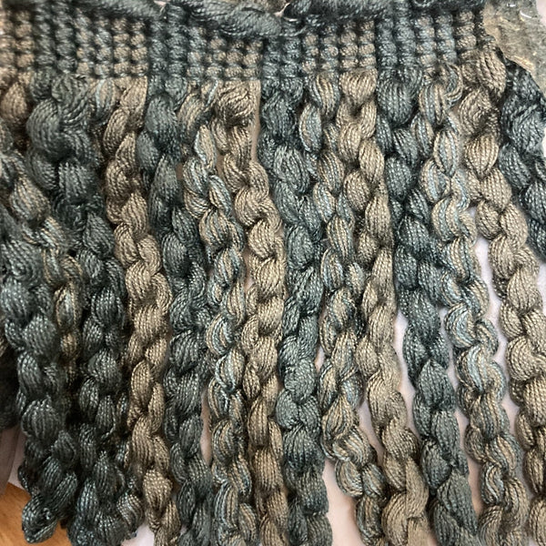 Teal Soft Fringe - 5.6 Meters (2)