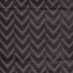 Herringbone Purple Velvet - 2.2mt Remnant