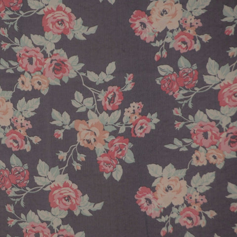 Chiffon Floral Dress Fabric. - Endoflinefabrics