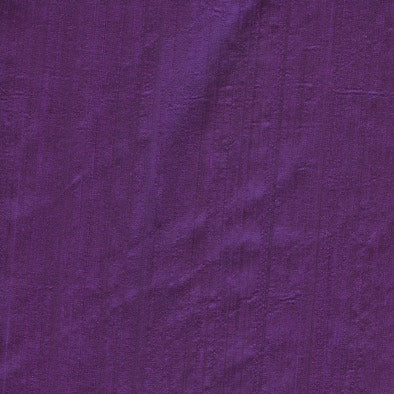 100% Silk Purple - 1mt Remnant