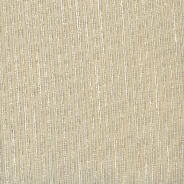 Ribbed Cream Fabric - 2.6mt Remnant