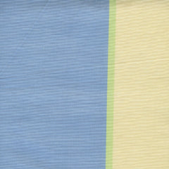Anna French - Lussan Stripe Blue Cream - 1.6mt Remnant