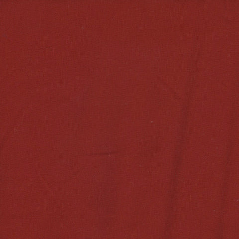 Plain Red Panama Cotton