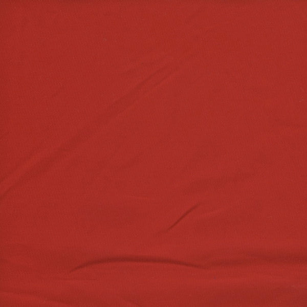 Just Plain Red Sateen
