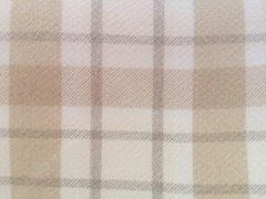 Stirling Tartan Natural