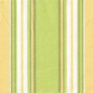 Taffeta Stripe Citrus Yellow