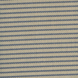 Linwood - Kensington Larkspar Stripe - 1mt Remnant
