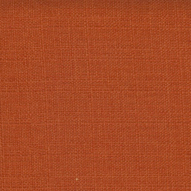 Orange Textured Fabric - 2mt Remnant