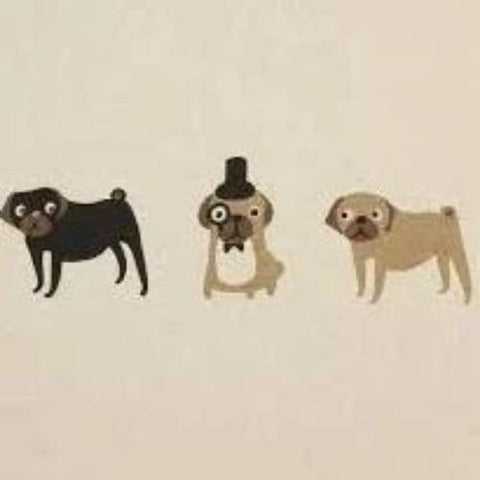 Pugs Cushion Panels