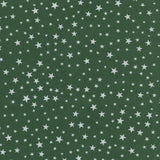 MP Poly Cotton 355 stars Green - 2.5mt Remnant