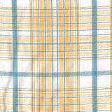 Taffeta Plaid Yellow Blue