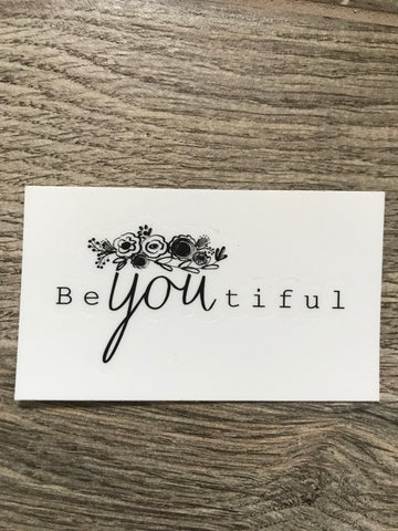 BeYOUtiful Sticker