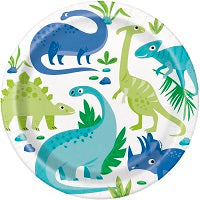 Blue and Green Dinosaurs