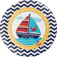 Ahoy Matey Nautical First Birthday Party Supplies