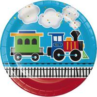 All Aboard Trains Themed First Birthday Party Supplies