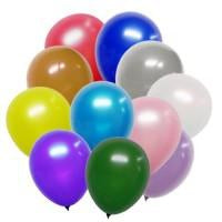 CLEARANCE Premium Pearlized 50 ct Latex Balloons 12 in