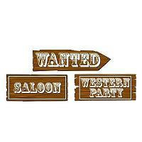Western Party Decor and Accessories