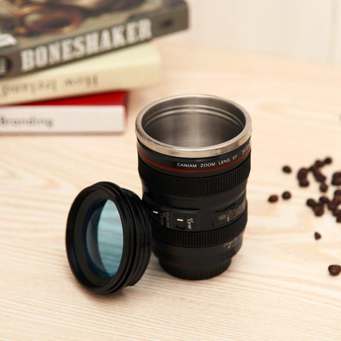 Creative Mugs™ Camera Lens Travel Mug